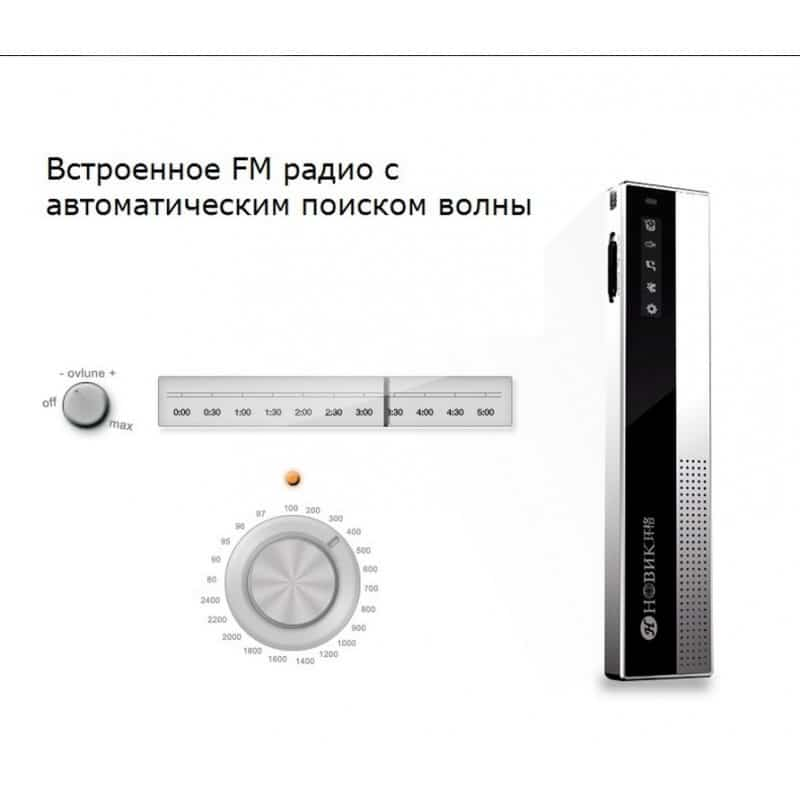 Профессиональный диктофон H-R100 – до 75 часов записи, шумоподавление, двойной микрофон, OLED экран, FM-радио 210617