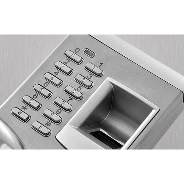 34378 - Левосторонний биометрический замок Aegis - датчик отпечатков пальцев, ключ, код