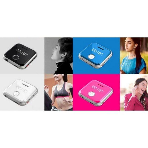 34386 - Маленький плеер Ring H-R300 с функцией записи - до 32 Гб, FM-радио, 0.91-дюймовый OLED экран, микрофон