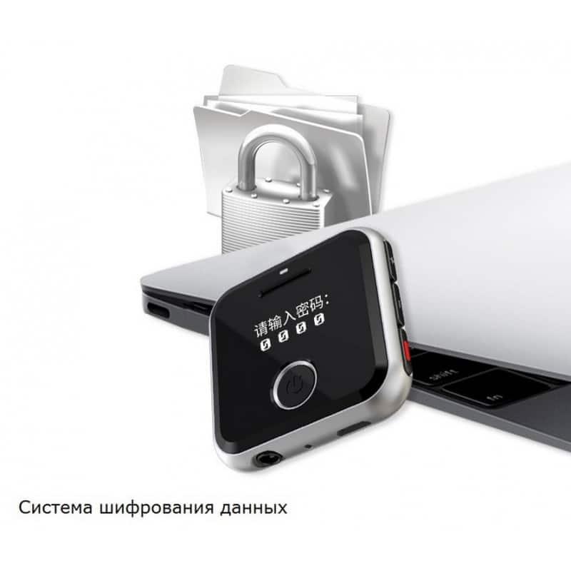 Маленький плеер Ring H-R300 с функцией записи – до 32 Гб, FM-радио, 0.91-дюймовый OLED экран, микрофон 210630