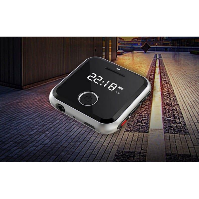 Маленький плеер Ring H-R300 с функцией записи – до 32 Гб, FM-радио, 0.91-дюймовый OLED экран, микрофон 210634