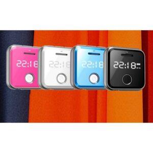 Маленький плеер Ring H-R300 с функцией записи – до 32 Гб, FM-радио, 0.91-дюймовый OLED экран, микрофон