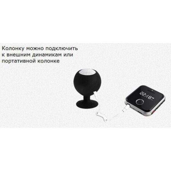 34394 - Маленький плеер Ring H-R300 с функцией записи - до 32 Гб, FM-радио, 0.91-дюймовый OLED экран, микрофон
