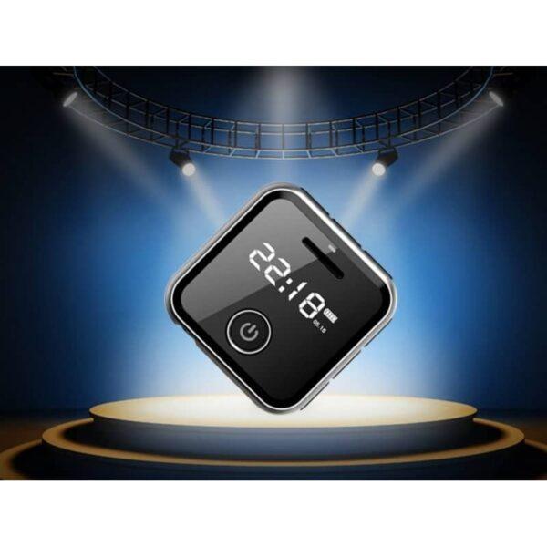 34395 - Маленький плеер Ring H-R300 с функцией записи - до 32 Гб, FM-радио, 0.91-дюймовый OLED экран, микрофон