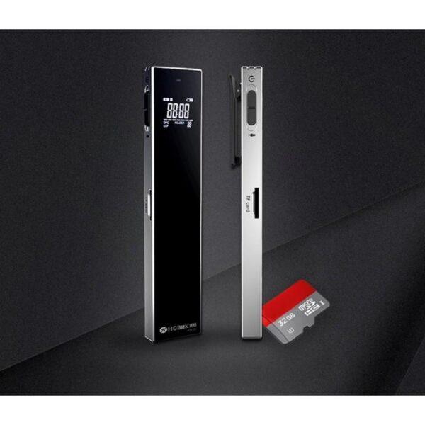 34401 - HD диктофон Ring H-R560 с Hi-Fi качеством воспроизведения - до 388 часов записи, 1-дюймовый OLED экран