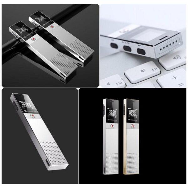34416 - Диктофон Ring H-R600 - интеллектуальное шумоподавление, 8 Гб и 16 Гб, lossless звук