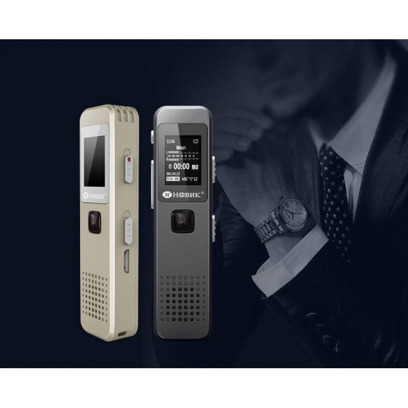 34419 - Компактный диктофон Ring H-R280 - HD качество, шумоподавление, 8 Гб / 16 Гб