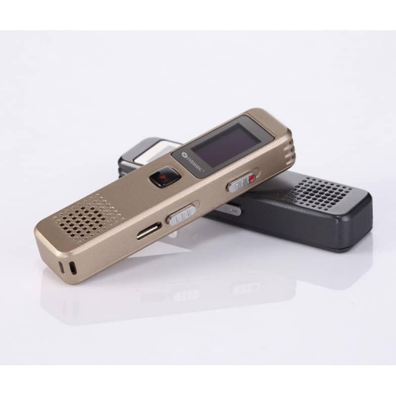 Компактный диктофон Ring H-R280 – HD качество, шумоподавление, 8 Гб / 16 Гб 210660
