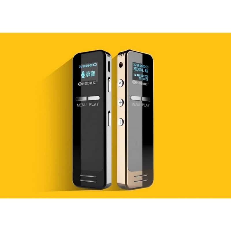 Цифровой диктофон Ring H-R200 – 8 Гб / 16 Гб, интеллектуальный таймер записи, шумоподавление, повтор