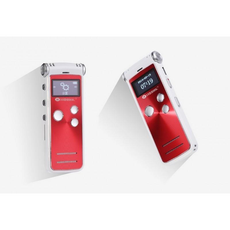 34482 - Профессиональный HD диктофон H-R380 - регулируемое шумоподавление, 8 Гб + поддержка Micro SD, до 25 часов записи
