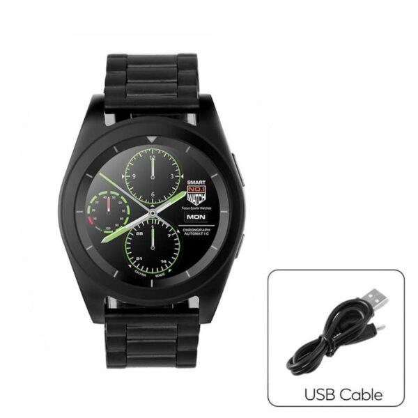 34509 - Умные фитнес часы No.1 G6 - Bluetooth 4.0, встроенный микрофон, шагомер, монитор сна, монитор сердечного ритма