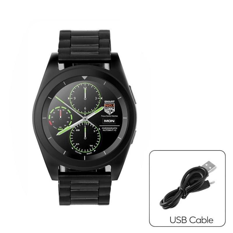Умные фитнес часы No.1 G6 – Bluetooth 4.0, встроенный микрофон, шагомер, монитор сна, монитор сердечного ритма 210747