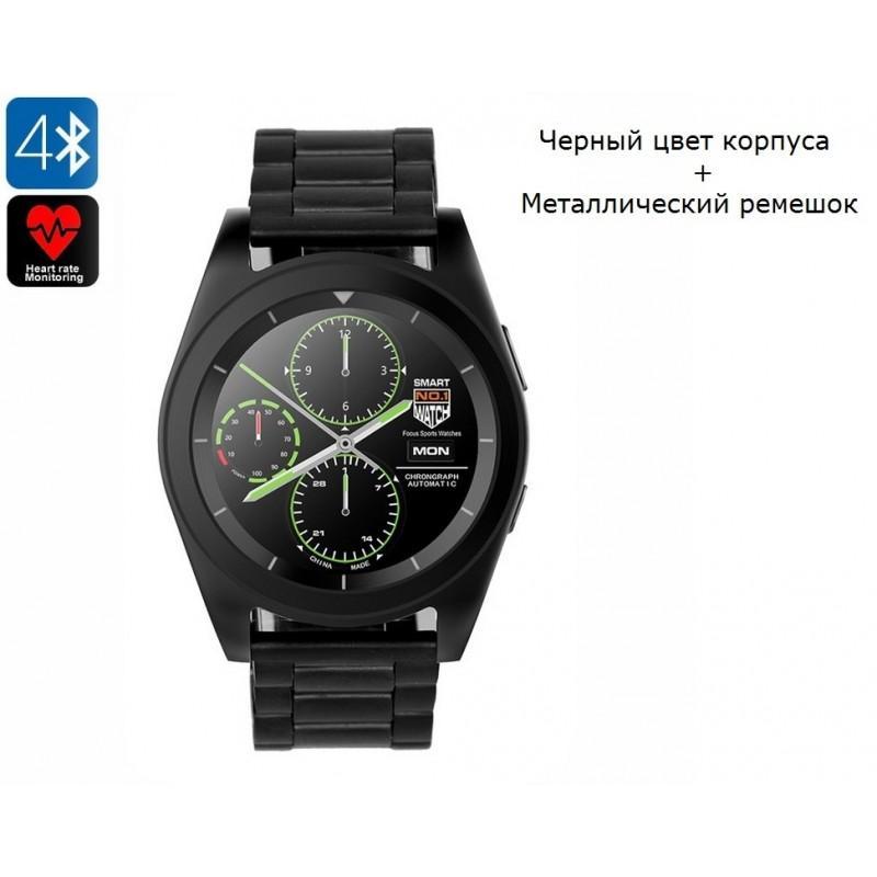 34512 - Умные фитнес часы No.1 G6 - Bluetooth 4.0, встроенный микрофон, шагомер, монитор сна, монитор сердечного ритма