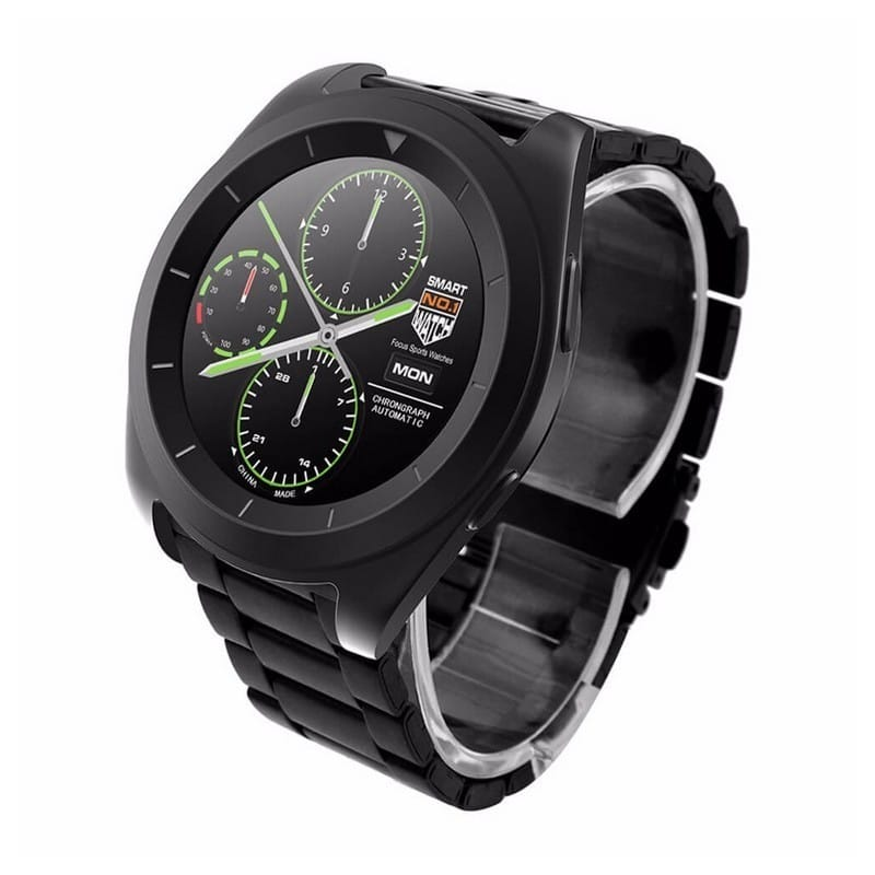 Умные фитнес часы No.1 G6 – Bluetooth 4.0, встроенный микрофон, шагомер, монитор сна, монитор сердечного ритма 210750