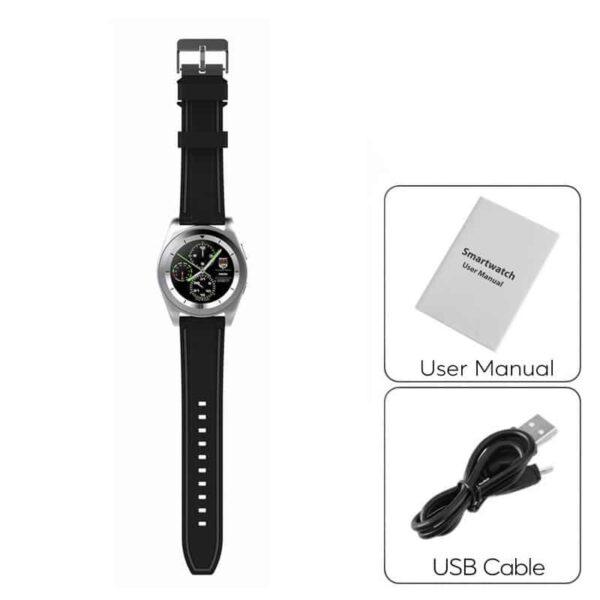 34517 - Умные фитнес часы No.1 G6 - Bluetooth 4.0, встроенный микрофон, шагомер, монитор сна, монитор сердечного ритма
