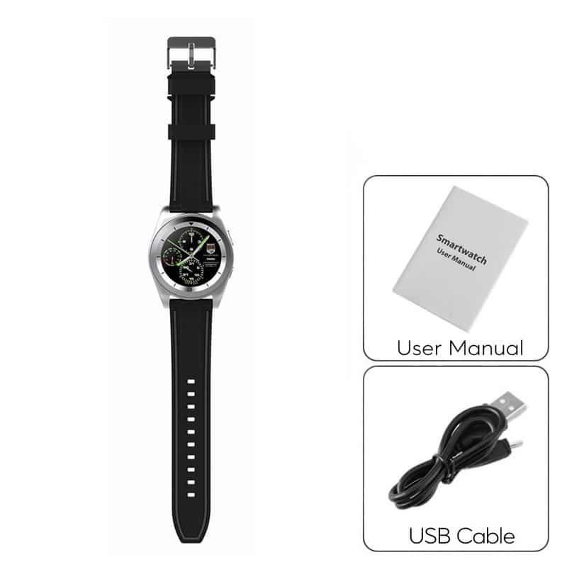 Умные фитнес часы No.1 G6 – Bluetooth 4.0, встроенный микрофон, шагомер, монитор сна, монитор сердечного ритма 210754