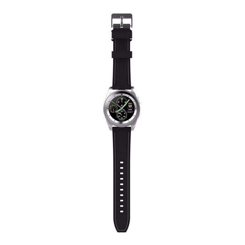 Умные фитнес часы No.1 G6 – Bluetooth 4.0, встроенный микрофон, шагомер, монитор сна, монитор сердечного ритма 210759