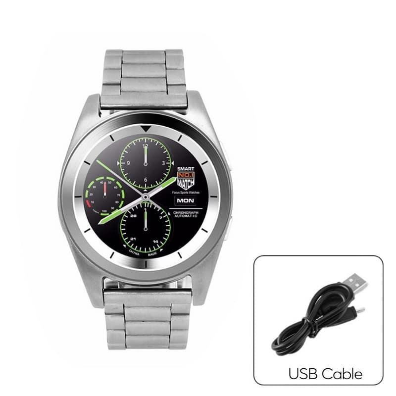 Умные фитнес часы No.1 G6 – Bluetooth 4.0, встроенный микрофон, шагомер, монитор сна, монитор сердечного ритма 210760