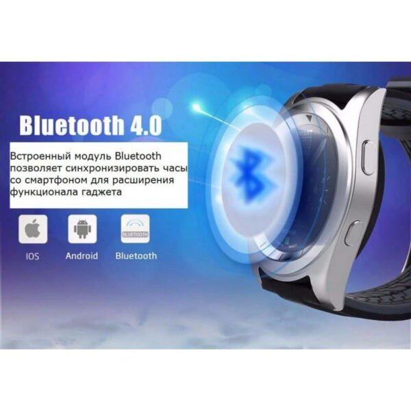 34530 - Умные фитнес часы No.1 G6 - Bluetooth 4.0, встроенный микрофон, шагомер, монитор сна, монитор сердечного ритма