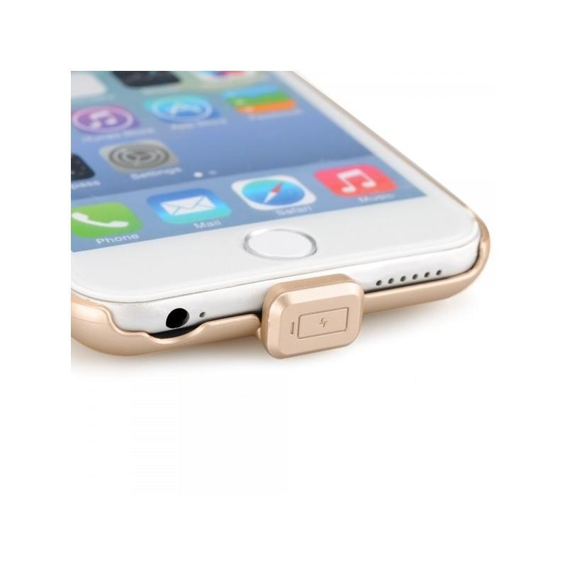 Внешний корпус-аккумулятор C-A483 для iPhone 6, 1500 мАч, индикатор питания, зарядка до 50000 раз 185226