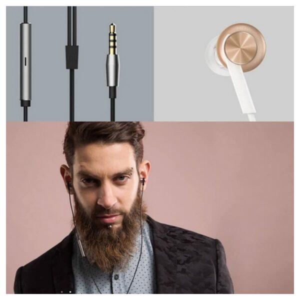 34601 - Оригинальные наушники-вкладыши Xiaomi Mi In-Ear - проводные, микрофон, 98 дБ, 32 Ом