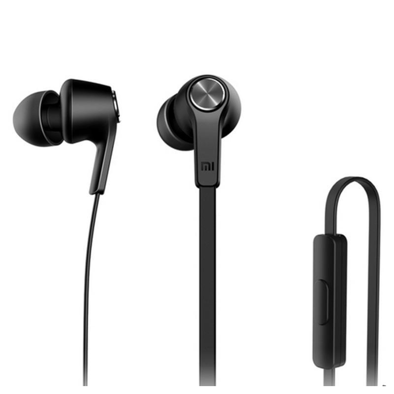 Бюджетные Hi-Fi наушники-вкладыши Xiaomi HSEJ02JY - пульт управления, микрофон, проводные - Черный