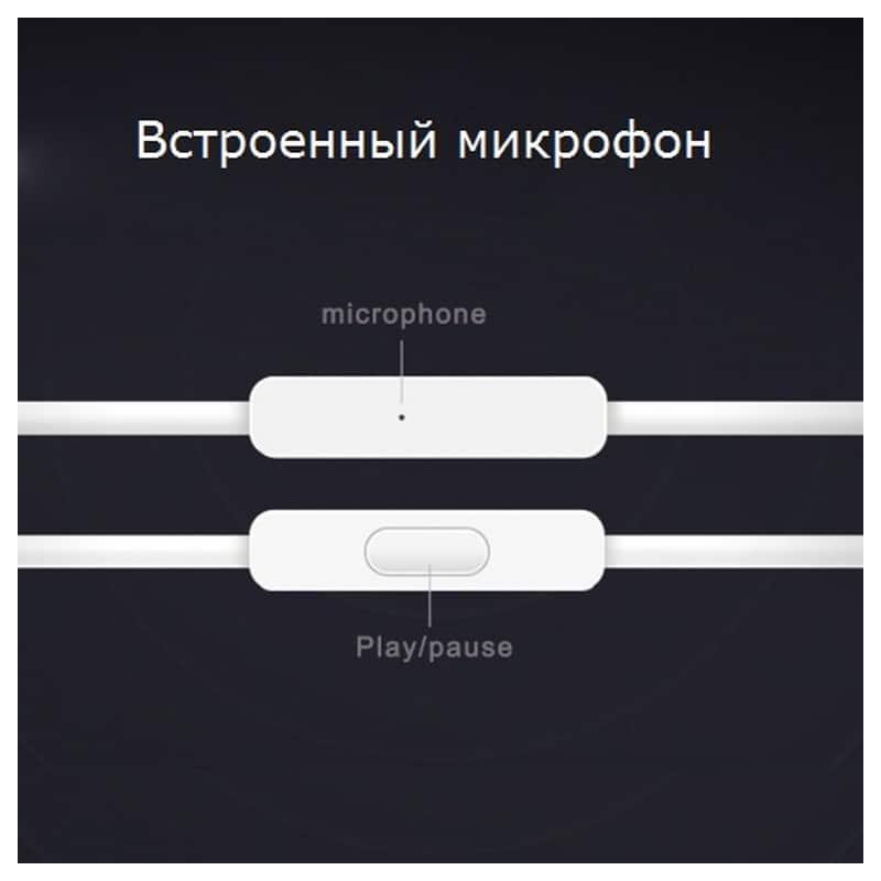 Бюджетные Hi-Fi наушники-вкладыши Xiaomi HSEJ02JY – пульт управления, микрофон, проводные 210831