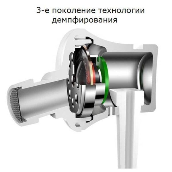 34614 - Бюджетные Hi-Fi наушники-вкладыши Xiaomi HSEJ02JY - пульт управления, микрофон, проводные