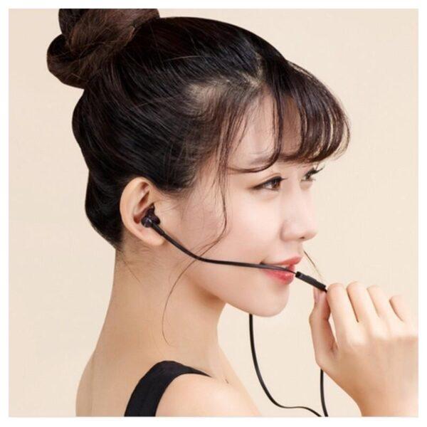 34618 - Бюджетные Hi-Fi наушники-вкладыши Xiaomi HSEJ02JY - пульт управления, микрофон, проводные