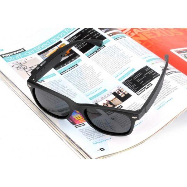 34622 - Солнцезащитные беспроводные Bluetooth очки - ответ на вызов, воспроизведение музыки до 4-х часов, 15 метров Bluetooth