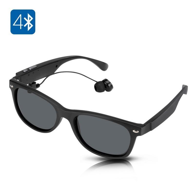 34624 - Солнцезащитные беспроводные Bluetooth очки - ответ на вызов, воспроизведение музыки до 4-х часов, 15 метров Bluetooth