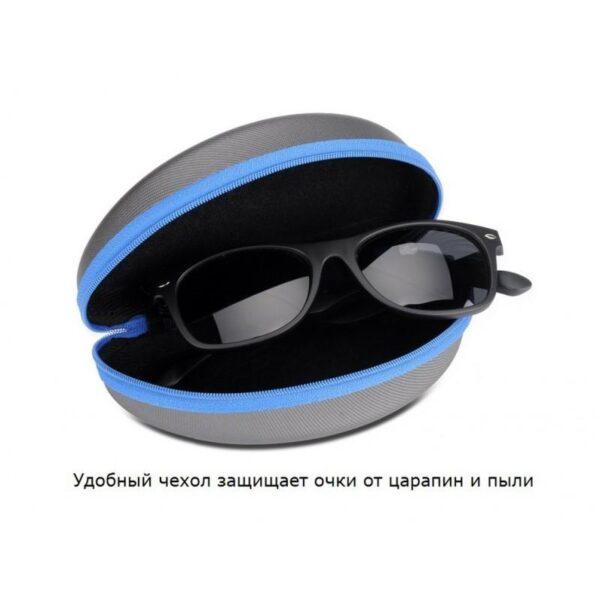 34627 - Солнцезащитные беспроводные Bluetooth очки - ответ на вызов, воспроизведение музыки до 4-х часов, 15 метров Bluetooth