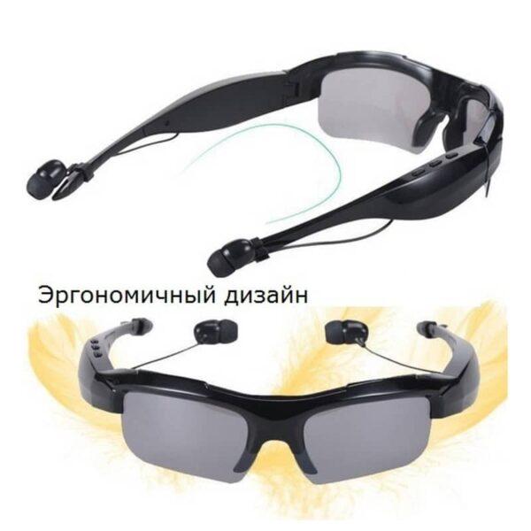 34642 - Солнцезащитные очки-стереогарнитура KALEMER KL-300 - Bluetooth 4.1 до 10 метров, до 5 часов разговора, воспроизведение музыки