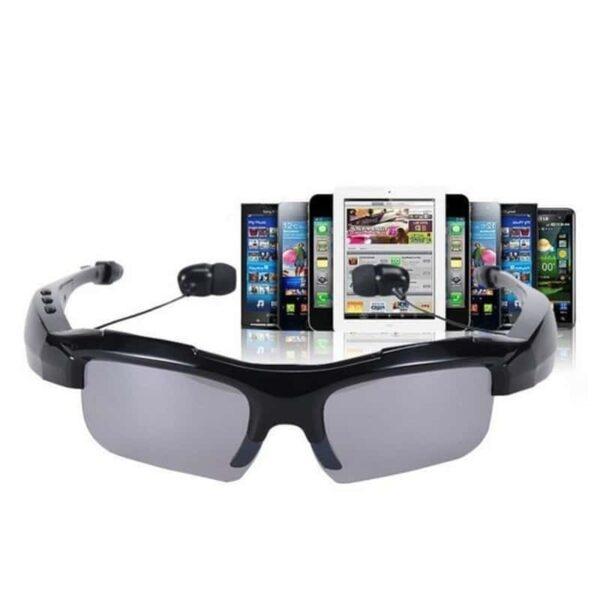 34643 - Солнцезащитные очки-стереогарнитура KALEMER KL-300 - Bluetooth 4.1 до 10 метров, до 5 часов разговора, воспроизведение музыки
