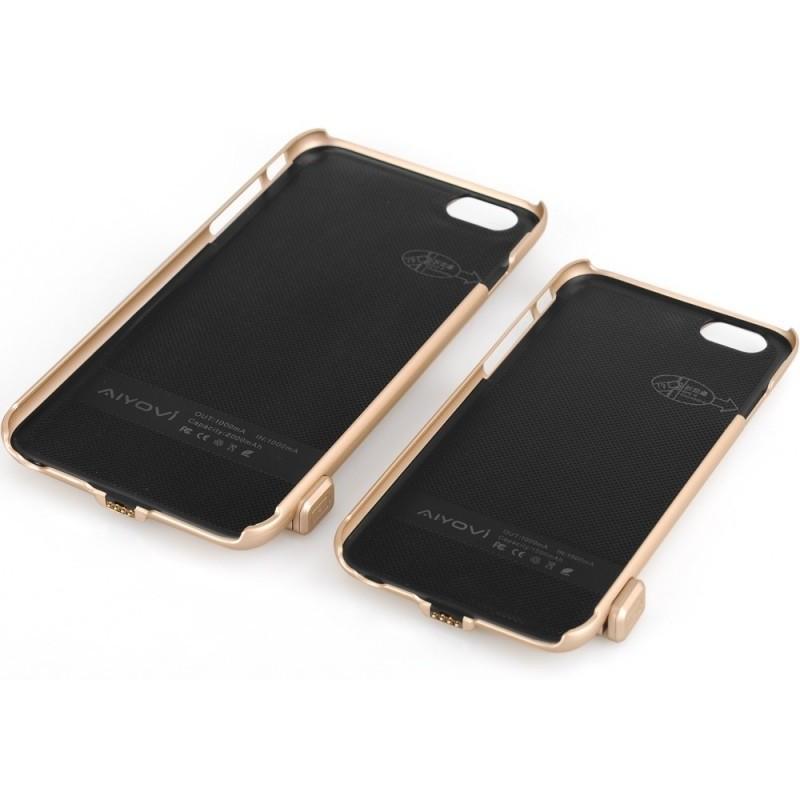 Внешний корпус-аккумулятор C-A483 для iPhone 6, 1500 мАч, индикатор питания, зарядка до 50000 раз 185232