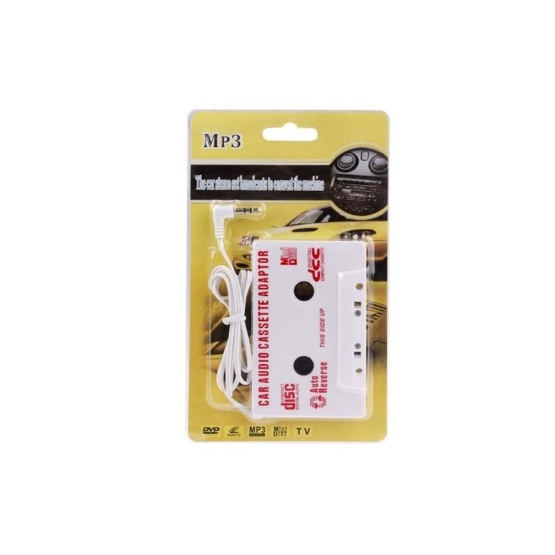 Кассетный адаптер Hunker для автомагнитолы для подключения телефона, MP3-плеера, iPod, CD-плеера 185239