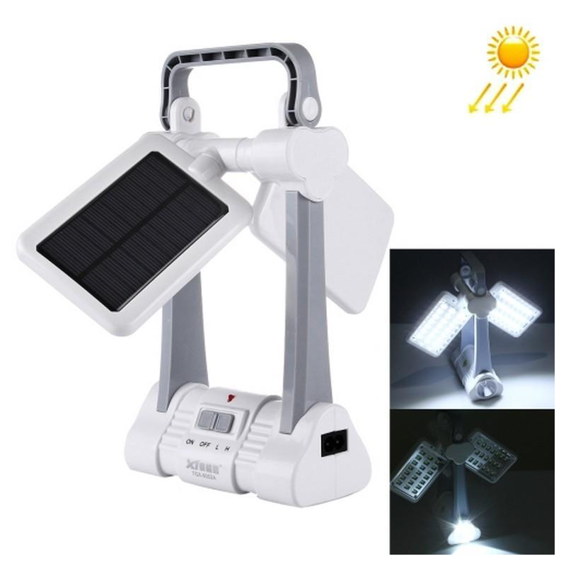 34735 - Портативные складные фонари TGX-6052A - 43 лампочки, солнечная батарея, 2500 мАч