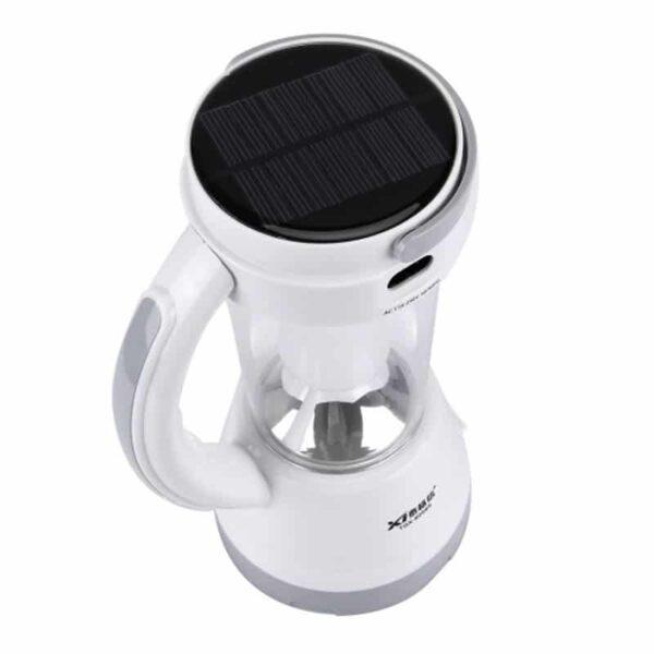 34756 - Портативный фонарь-прожектор TGX-6059S - 17 ламп, солнечная панель, 1500 мАч