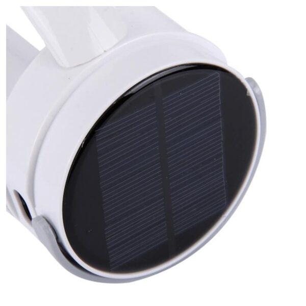 34757 - Портативный фонарь-прожектор TGX-6059S - 17 ламп, солнечная панель, 1500 мАч
