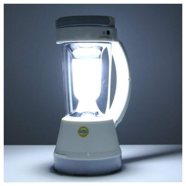 34762 - Портативный фонарь-прожектор TGX-6059S - 17 ламп, солнечная панель, 1500 мАч