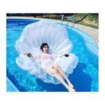 """34764 thickbox default - Элегантный надувной матрас для плавания """"Морская ракушка"""""""