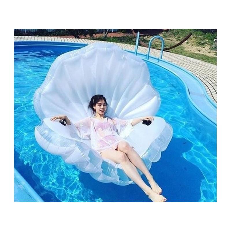 """34764 - Элегантный надувной матрас для плавания """"Морская ракушка"""""""