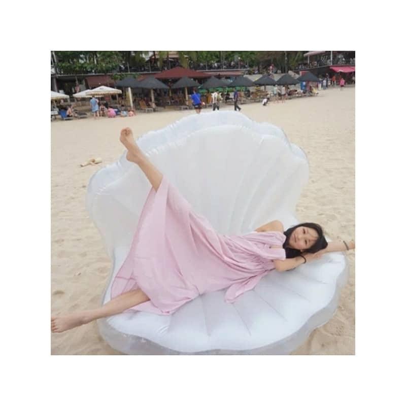 """Элегантный надувной матрас для плавания """"Морская ракушка"""" 210969"""
