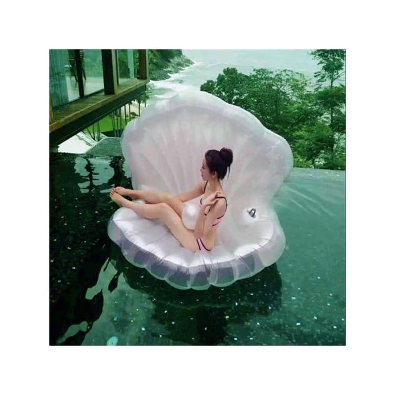 """Элегантный надувной матрас для плавания """"Морская ракушка"""" 210971"""