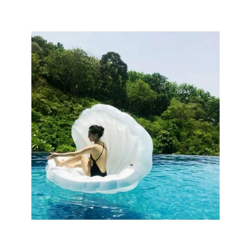 """Элегантный надувной матрас для плавания """"Морская ракушка"""" 210972"""