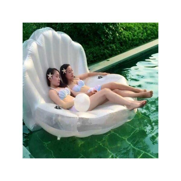 """34771 - Элегантный надувной матрас для плавания """"Морская ракушка"""""""