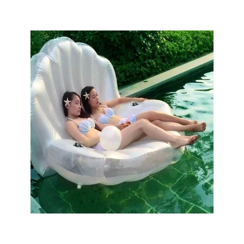 """Элегантный надувной матрас для плавания """"Морская ракушка"""" 210973"""