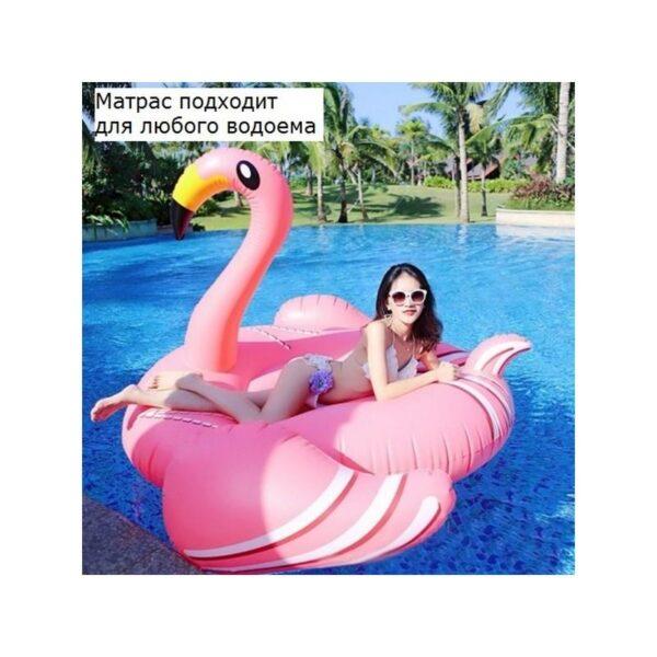 """34792 - Надувной матрас для плавания """"Розовый фламинго"""""""