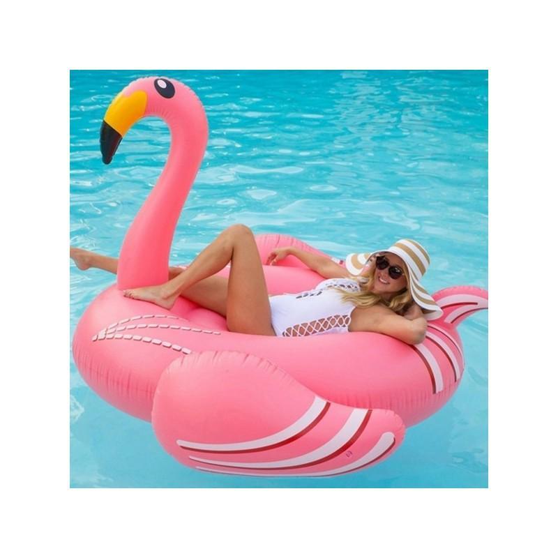 """34794 - Надувной матрас для плавания """"Розовый фламинго"""""""