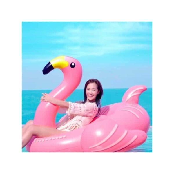 """34795 - Надувной матрас для плавания """"Розовый фламинго"""""""